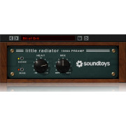 Soundtoys Little Radiator Modeled Classic Tube Mic Pre-Amp