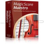eMedia Maestro Music Software MagicScore Maestro