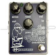 Menatone Blue Collar Vintage Hand-Wired #383 Overdrive Pedal