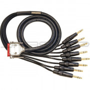 Mogami Gold DB25 to TRS Analog Interface Cable - 10ft.