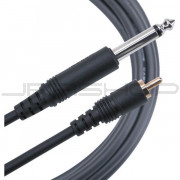 Mogami Gold 1/4TS to RCA Cable - 12ft.
