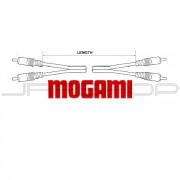 Mogami Puroflex I Patch Cable - RCA to RCA Stereo - 1ft to 20ft