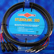 Monster SL500-S4-X-3 4-Channel Snake Cable