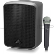 Behringer MPA100BT All-in-One Portable 100-Watt Speaker with Wireless Microphone