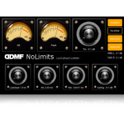 DDMF NoLimits Smooth-As-Silk Lookahead Limiter Plugin