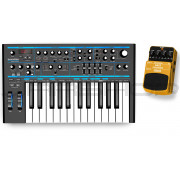 Novation Bass Station II + Behringer BCH100 Bass Chorus Combo
