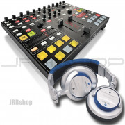 Novation Twitch Controller + Stanton DJ Pro 3000 Headphones Combo