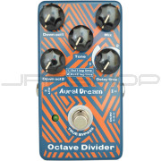 Aural Dream Octave Divider Digital Guitar Effects Pedal