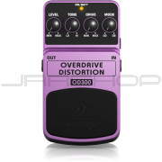 Behringer OD300 2-Mode Overdrive Distortion Effects Pedal