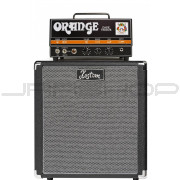 "Orange DA15H Dark Terror Tube Amp Head B-Stock + Kustom 1x12"" Speaker Cabinet Bundle"