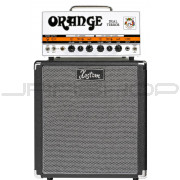 "Orange DT30H Dual Terror Tube Amp Head B-Stock + Kustom 1x12"" Speaker Cabinet Bundle"