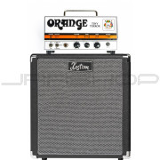"Orange TT15H Tiny Terror Tube Amp Head B-Stock + Kustom 1x12"" Speaker Cabinet Bundle"
