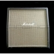 Marshall 1960AX Lead 4x12 Slant Cabinet 100W Celestion Greenbacks With Case - USED