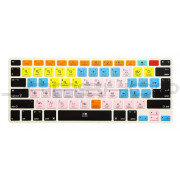 Avid Pro Tools Shortcut Keys Keyboard Skin Template Cover