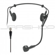 """Audio Technica PRO-8HECH PRO 8HEx  hypercardioid dynamic headworn microphone with 55"""" cable terminated"""