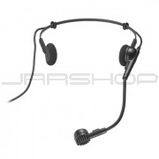 """Audio Technica PRO-8HEMW Hypercardioid dynamic headworn microphone with 55"""" cable terminated"""