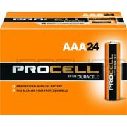 Hosa PRO-AAA4 Duracell Procell Batteries, AAA, 24 pc