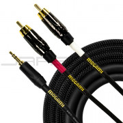 "Mogami GOLD 3.5 2 RCA 03 ⅛"" Cable"