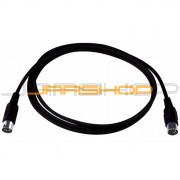RCL 30701 Economy MIDI Cable - 2m - Black