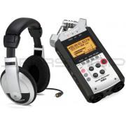 Zoom H4n Handy Recorder & Samson HP10 Bundle