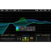 NuGen Audio SEQ-S Linear Phase Spline 'Match' EQ