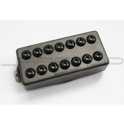 Seymour Duncan 8-String Invader Bridge Passive Mount Black Metal