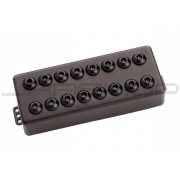 Seymour Duncan 8-String Invader Neck Passive Mount Black Metal
