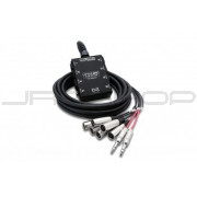 Hosa SH-6X2-30 Pro-Conex Little Bro' Sub Snake 6 x XLR Sends and 2 x 1/4 in TRS Returns, 30 ft