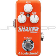 TC Electronic Shaker Mini Vibrato Pedal + Free Power Supply Combo