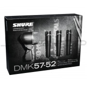Shure DMK57-52 Drum Mic Kit - Open Box