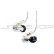 Shure SE315 Sound Isolating Earphones Clear - Open Box