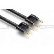 Hosa SKJ-675BB Speaker Cable Dual Banana to Same, 75 ft