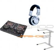 Stanton DJC.4 + DJ Pro 3000 + Uberstand Bundle