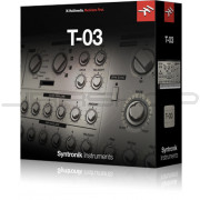 IK Multimedia Syntronik T-03 Synth Instrument