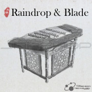 Three-Body Technology Raindrop & Blade Chinese Hammered Dulcimer