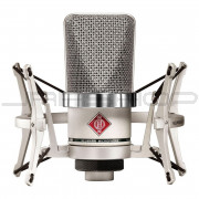 Neumann TLM 102 Set Cardioid Condenser Microphone Nickel with EA 4 Shockmount
