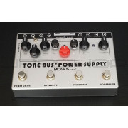 Mosky Audio Tone Bus Dual Overdrive + Compressor + Power Supply Triple Pedal