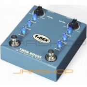 T-Rex Twin-Boost Overdrive Guitar Effects Pedal