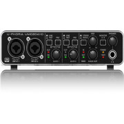 Behringer UMC204HD Audiophile 2x4 24-Bit/192 kHz USB Audio/MIDI Interface