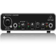 Behringer UMC22 2X2 USB 2 Audio Midi Interface