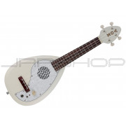 Vox Ukelectric VEU-33C White Electric Ukulele w/ Built-In Speaker
