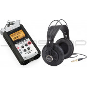 Zoom H4n Handy Recorder & Samson SR850 Bundle