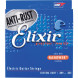 Elixir Electric Guitar Strings Nanoweb - Custom Light