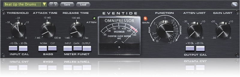 Omnipressor plug-in screen shot