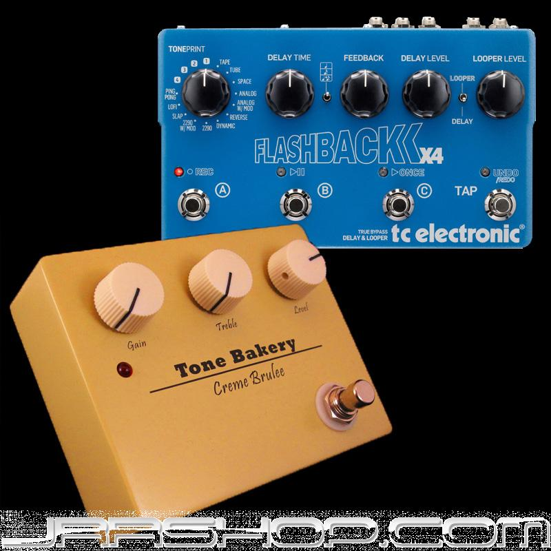 TC Electronic Flashback X4 + Tone Bakery Creme Brulee Combo New JRR Shop