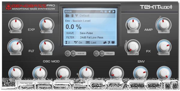 TEK'IT Audio Genobazz Pro Monophonic synthesizer eDelivery JRR Shop