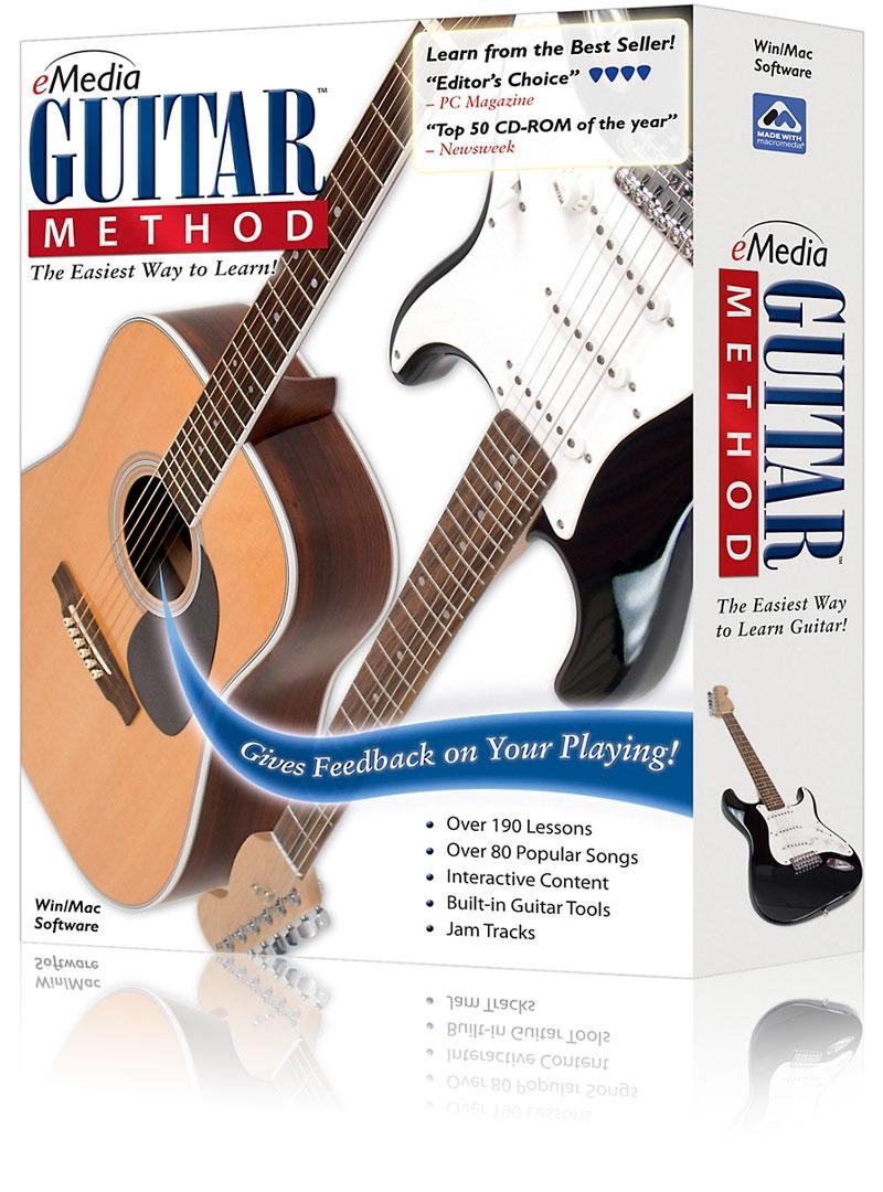 Emedia guitar method v6 software   zzounds.