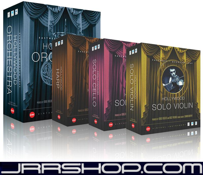 EastWest Hollywood Orchestra + Solo Instruments Series Gold eDelivery JRR Shop