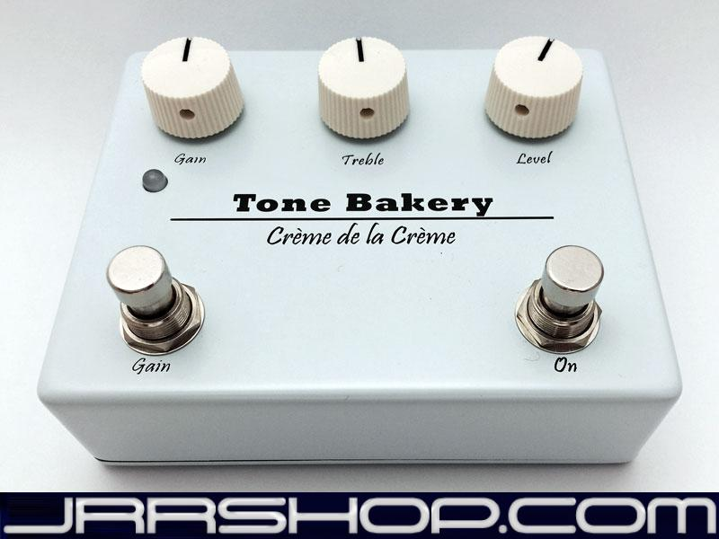Tone Bakery Crème de la Crème Boost-Overdrive Pedal - Free Overnight Shipping JR