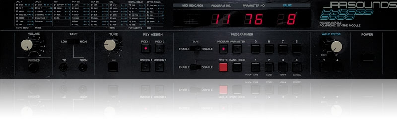 JRRshop com | JRR Sounds Hybrid-8000 Collection Korg DW/EX-8000